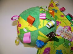Taggie Ball toy for Baby pdf Pattern 5 Dia Infant by civilwarlady, $3.99