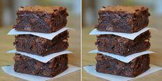 Vemale.com: Resep Brownies Panggang Cokelat Untuk Pemula Brownie Cake, Brownies, Cake Recipes, Dessert Recipes, Desserts, Indonesian Food, Tart, Sweet Tooth, Easy Meals