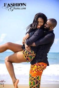 We all love those beautiful and cute couples with matching attires and most especially Ankara. Couples African Outfits, African Dresses For Kids, African Clothing For Men, African Shirts, African Men Fashion, Couple Outfits, African Attire, African Wear, Ankara Clothing