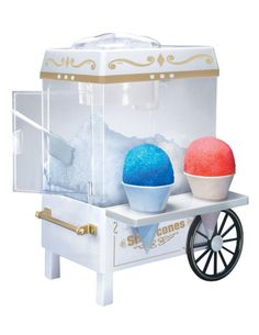 Shop for Nostalgia Vintage Collection Snow Cone Maker & Shaved Ice Storage by Nostalgia Electrics at ShopStyle.