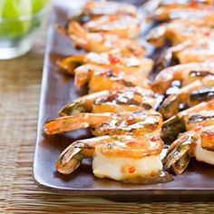 Spicy Grilled Shrimp Skewers Recipe - Cook's Country aug09