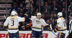 NHL: Taylor Beck stars as Nashville Predators rout Toronto Maple Leafs