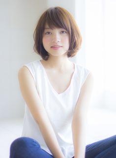 大人可愛いアンニュイカールボブ 【Ramie】 http://beautynavi.woman.excite.co.jp/salon/27006?pint ≪ #bobhair #bobstyle #bobhairstyle #hairstyle・ボブ・ヘアスタイル・髪型・髪形 ≫