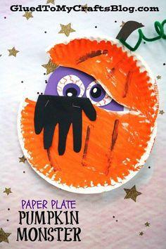 Paper Plate Peeking