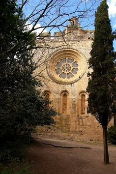 Monasterio de Santes Creus,  Tarragona, Cataluña,
