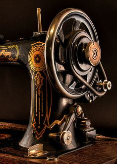 Old Sewing Machine...