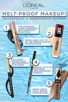 Makeup Inspo, Makeup Inspiration, Makeup Tips, Beauty Makeup, Beauty Tips, Beauty Hacks, Best Skincare Products, Best Eyebrow Products, Beauty Products
