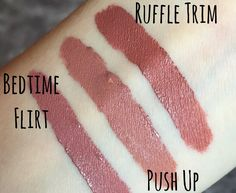 NYX LIP LINGERIE REVIEW - NATURALLY BLUSHED
