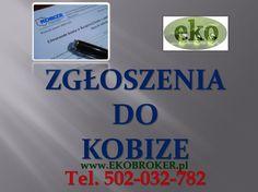 Kobize,  tel 502-032-782,  Krajowego Ośrodka Bilansowania i Zarządzania Emisjami (KOBiZE). http://ekobroker.pl/kobize/