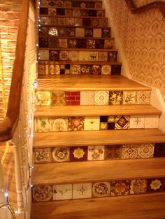 White stuff shop in Worcester. Creative stairs.