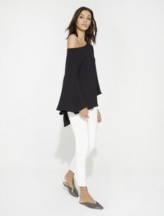 Flowy Tunic Top by Halston Heritage