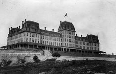 The Raymond Hotel was opened in 1886 but burned down in 1895. It was replaced by a second Raymond Hotel in 1903.* Water and Power Associates