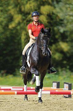 Follow Ingrid Klimke's six-week plan for dressage horses.