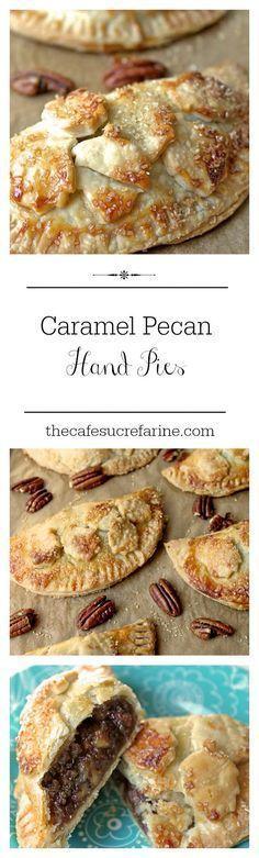 Caramel Pecan Hand Pies -