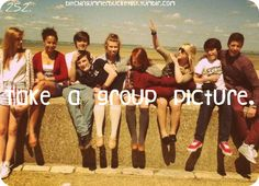 Maybe go to the beach with the youth group and take a bunch of fun pics :D What do ya think, @Michelle Winn? :)
