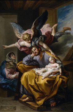 The Athenaeum - Joseph's Dream (Vicente López y Portaña - )
