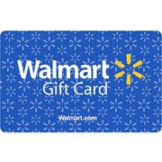 Walmart Gift Card for groceries, housing needs, emergencies, clothing needs, dorm supplies...This is a popular shopping spot for work clothes when our students get jobs.