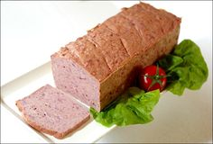 Fleischkäse Leberkäse grob selber machen | Wurst und Schinken selber machen