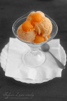 Frozen Desserts, Healthy Desserts, Foods To Eat, I Foods, Pinterest Recipes, Nutritious Meals, Gelato, Parfait, Sorbet