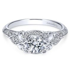 SR 14K Yellow Gold Cubic Zirconia Round CZ Cut Forever Classic Anniversary Promise Ring Size 6-9
