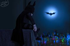 The Dark Knight- These parents take super cute and creative photos based on movies with their baby and post it on their blog CardboardBoxOffice.com