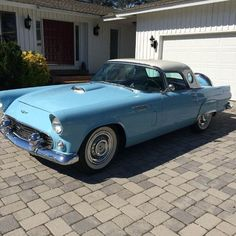 This 1956 Ford Thunderbird is listed on Carsforsale.com for $15,000 in Davie, FL