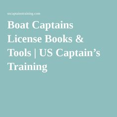 Straight forward USCG approved captain's license courses that work. Earn your Captains License. How To Become, Boat, Training, Tools, Travel, Life, Dinghy, Instruments, Viajes