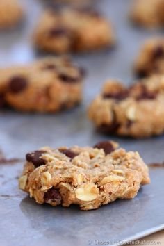 E Chocolate Chip Cowboy Cookies: http://chocolatecoveredkatie.com/2014/12/01/chocolate-chip-cowboy-cookies/
