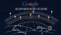 Google'ın balonları kullanarak internet hizmeti verecek olduğu Loon Projesini sizler için inceledik http://elektronie.blogspot.it/2014/08/google-loon-projesi.html