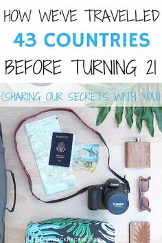 How we've travelled to 43 countries before turning 21 years old! We share our best kept secrets with you on how we manage to travel constantly!