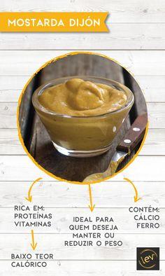 Como possui muito poucas calorias é recomendada para pessoas que desejam manter ou reduzir o peso. #mostarda #vidasaudavel #emagrecer