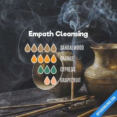 Empath Cleansing — Essential Oil Diffuser Blend