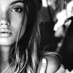 Hair, Make up, Looks Beauty Photography, Fashion Photography, Inka Williams, Enjoy The Silence, Stunning Women, Black And White Pictures, Beautiful Soul, Beauty And The Beast, Monochrome