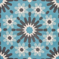 VN Azule 13 is a handmade cement tile of 20.00x20.00 cm from the brand Azule. $2.80/piece