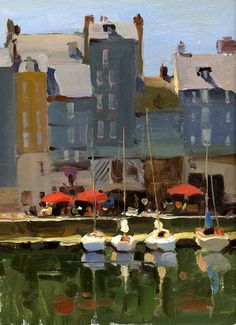 Kim English - looks like Honfleur to me.