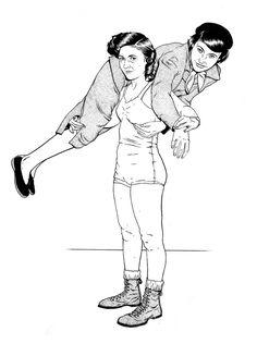 Illustration work by Louise Zergaeng Pomeroy