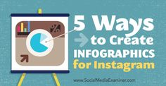 Want more engagement on Instagram?  Have you considered posting infographics?  Introducing infographics into your Instagram marketing campaigns will attract more viewers and set you apart from other companies.  In this article you'll find five ways to create infographics for Instagram