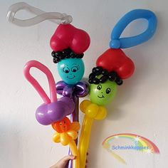 Ballonnen Pietjes  Schminkkoppies Mariëlle Heuft