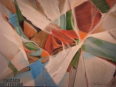 """""""Full Sail,"""" mixed media artwork by Peter Brum. From Chicago Art Leasing: http://chicagoartleasing.com/painting-detail.php?id=368=55"""