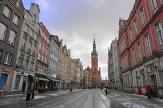Gdańsk, a pearl by the Baltic Sea - Backpack Globetrotter Baltic Sea, Pomeranian, Old Town, Poland, Backpack, Street View, City, Travel, Old City
