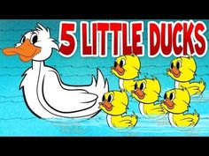 Five Little Ducks - Spring Songs for Children with Lyrics - Kids Songs by The Learning Station - YouTube