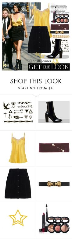 """""""KENDALL'S STYLE"""" by lisa98w ❤ liked on Polyvore featuring Krystal, Dries Van Noten, Superdry, Gucci, Laura Geller and Givenchy"""