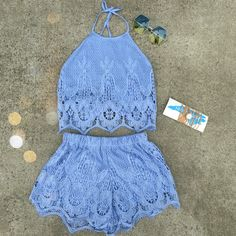 Cute two piece set! More