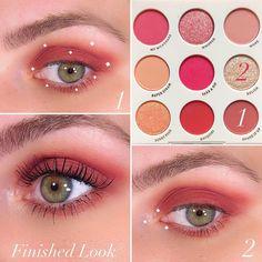 Soft Eye Makeup, Korean Eye Makeup, Eye Makeup Steps, Simple Eye Makeup, Skin Makeup, Makeup Eyeshadow, Makeup Cosmetics, Beauty Makeup, Eyeshadow Palette