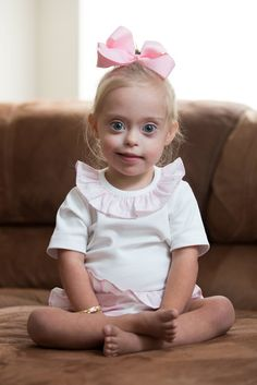A sweet toddler with Down Syndrome is winning hearts everywhere