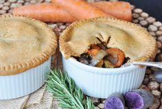 Vegan Root Vegetable Pot Pies
