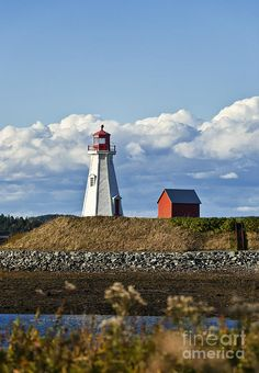 ✮ Mulholland Lighthouse, New Brunswick, Campobello, Canada