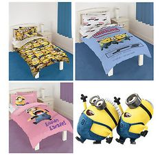 Official-Despicable-Me-2-Minions-Single-Bedding-Duvet-Quilt-Cover-Set-Brand-New