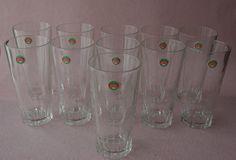 Lote 11 Vasos De Refresco DURALEX Años 70 / 70'S Lot 11 DURALEX GLASSES de lahaciendavintage en Etsy