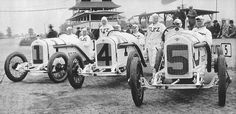 ... indy 500 stutz team - howdy wilcox 7th, earl cooper 4th, gil anderson